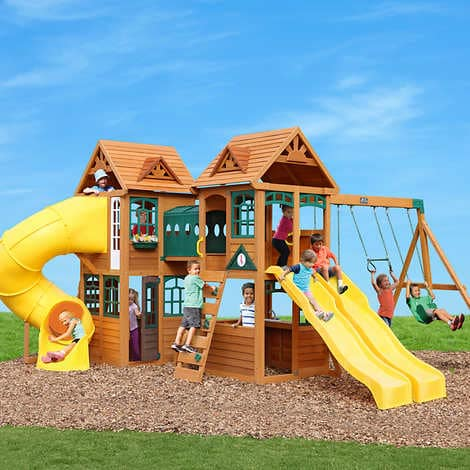 Cedar Summit By Kidkraft Kingsbridge Playset Do It Yourself My Online Store Dba Expo Int L